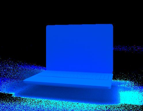 Web Design 3D Object