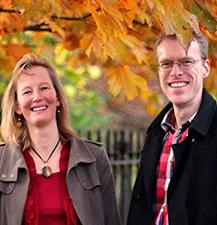Pastors Owen and Kate.