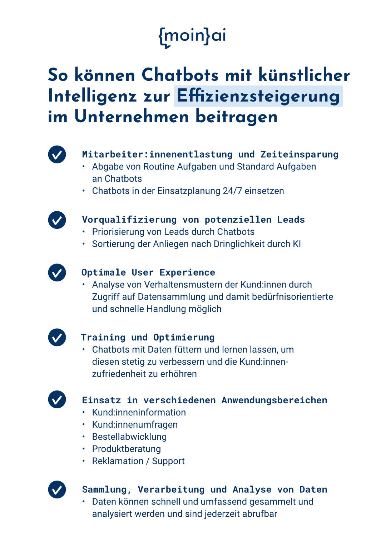 Chatbot Checkliste für Unternehmen 2021