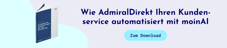 Chatbot für Versicherungen: Case-Study von AdmiralDirekt