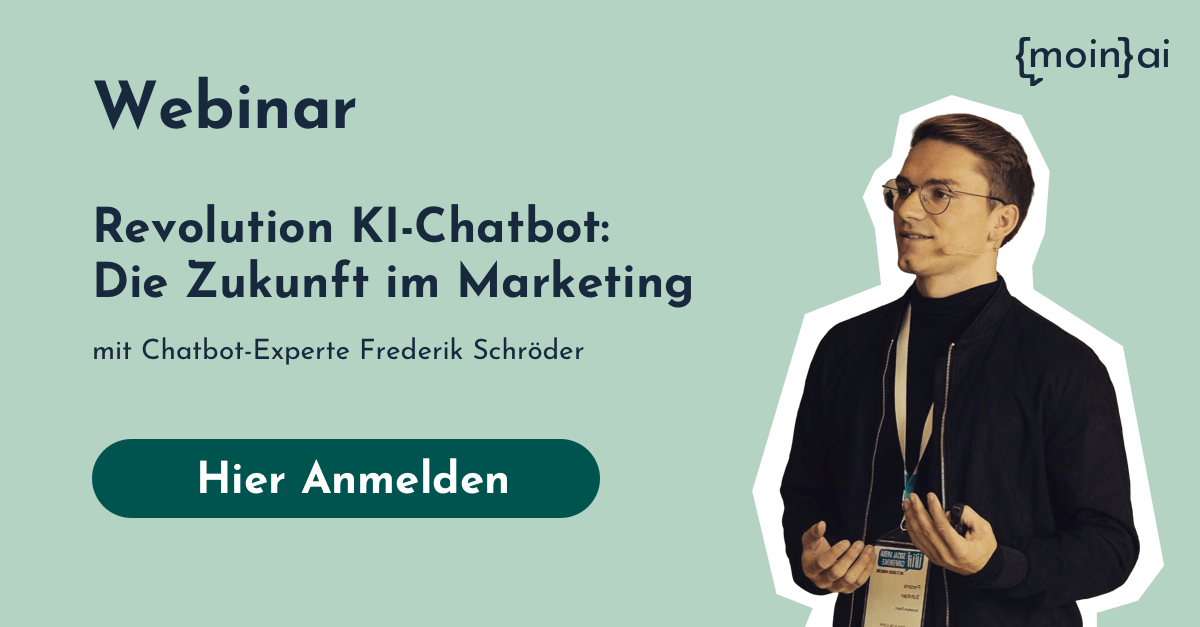 Webinar für Chatbots im Marketing und Sales