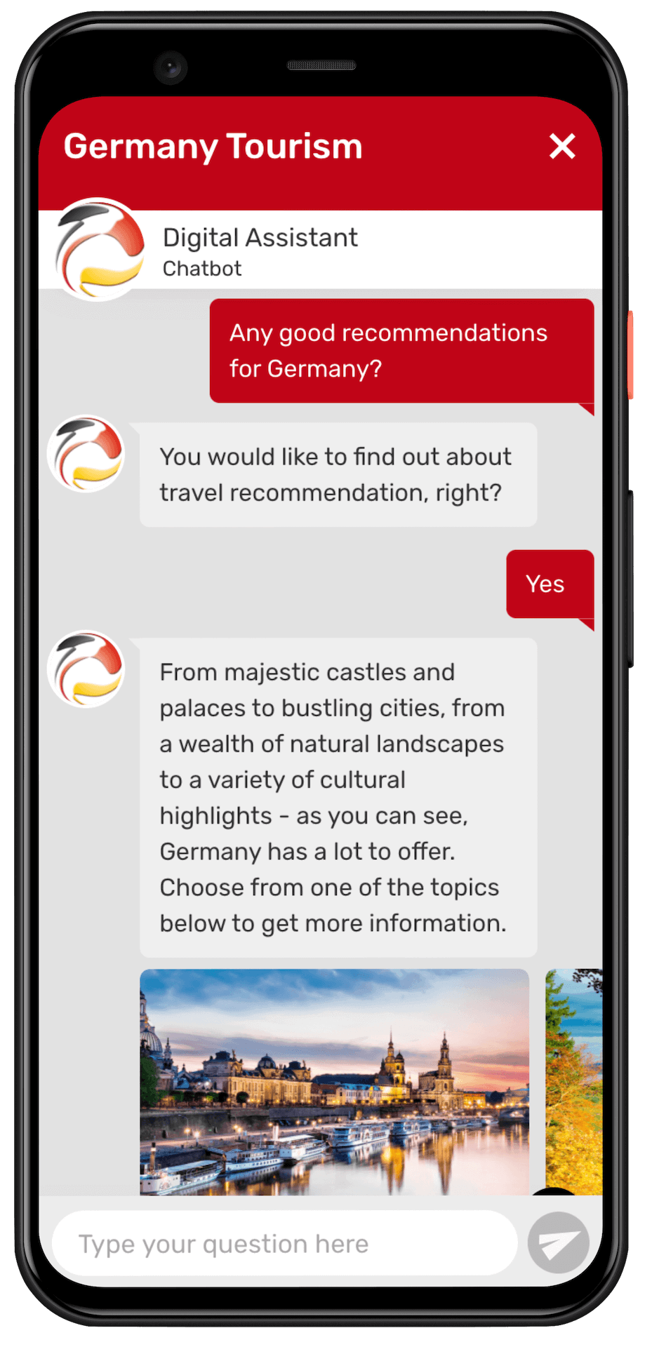 DZT Chatbot Mobile