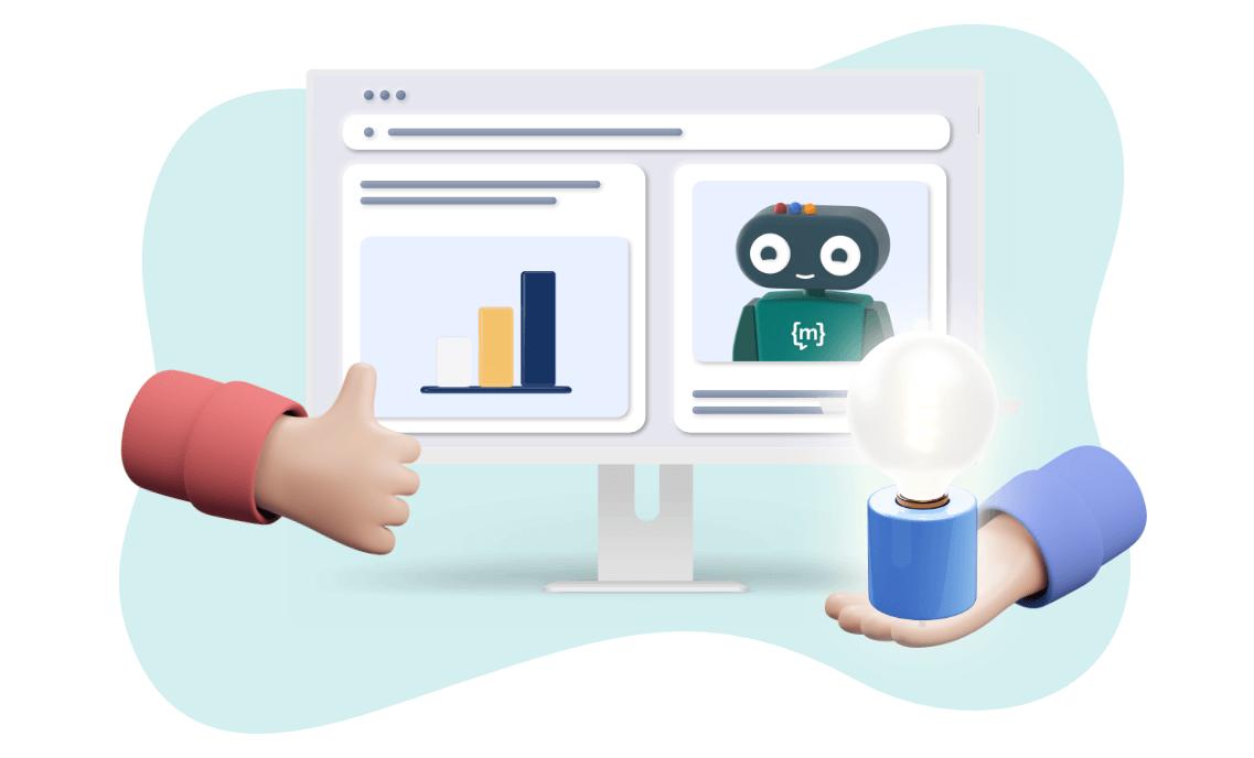 Alleinstellungsmerkmal für Unternehmen, ein Chatbot