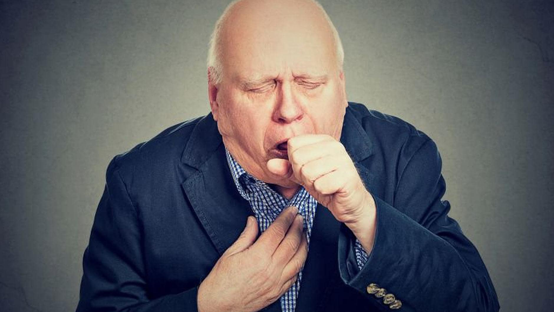 Image of man coughing. Hyfe - Hyfe runs on any Android phone, making it easy to deploy and scale