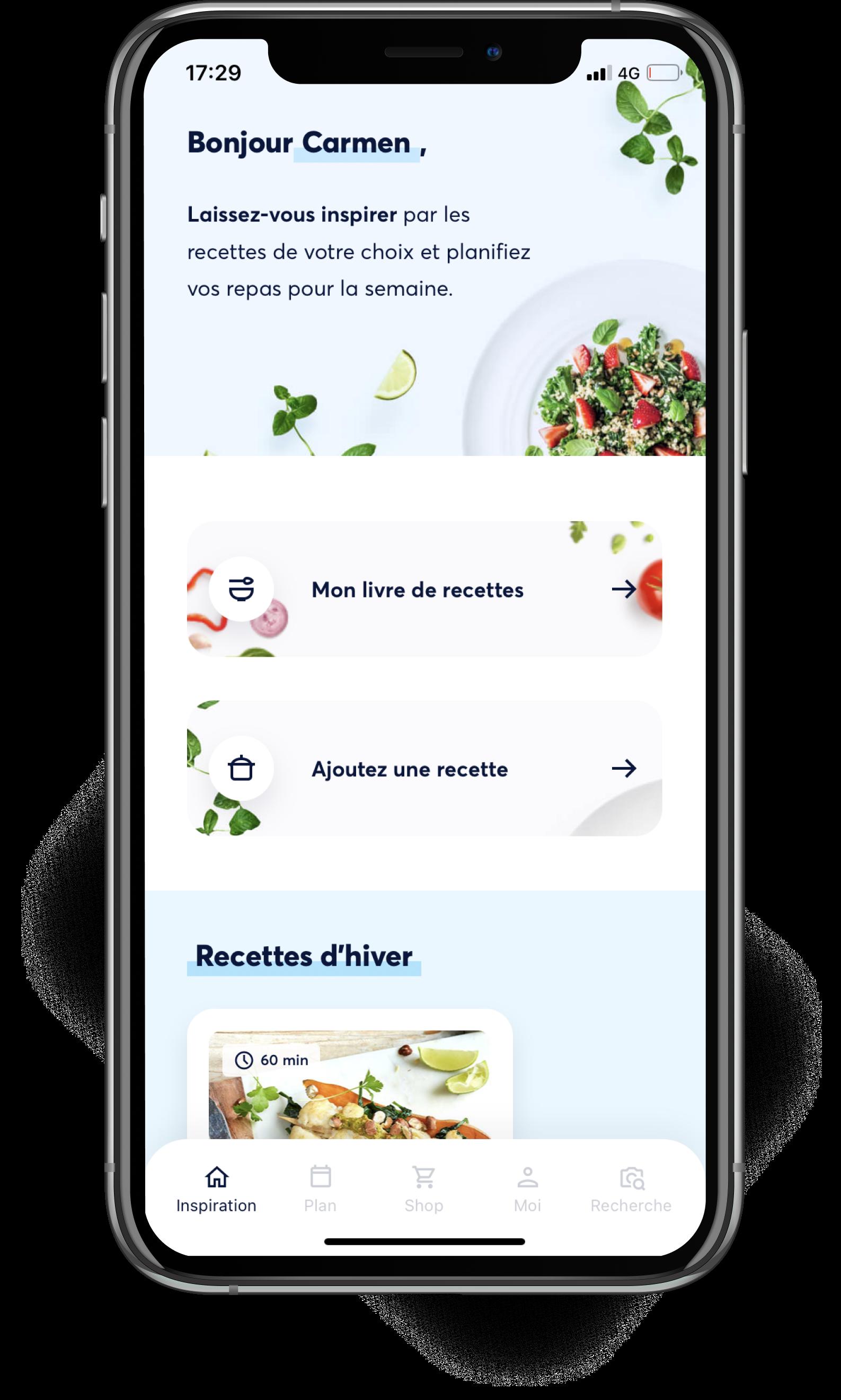 Foto van Smart With Food app