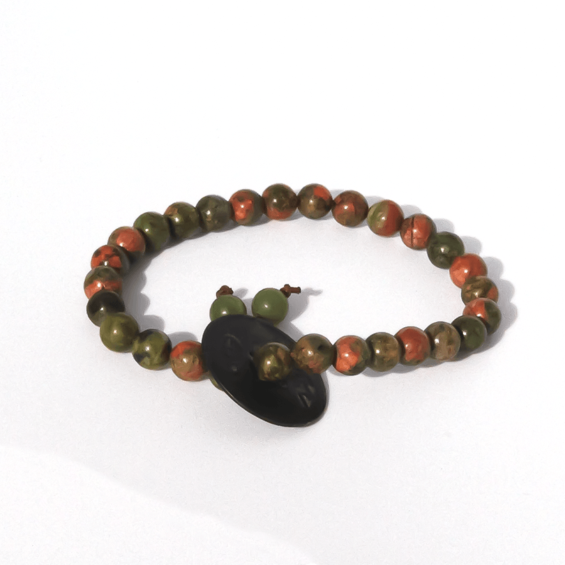 Beaded luxury bracelet made from jade for him and her