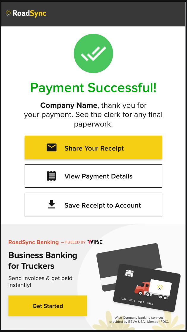 RoadSync Banking