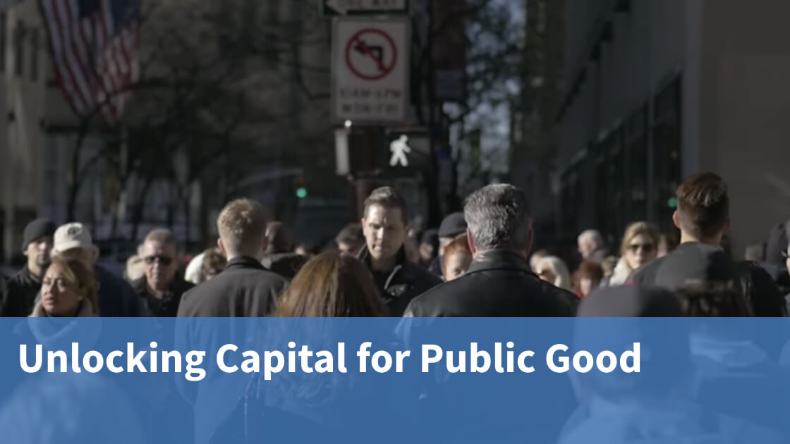 Video interview with Unlocking Capital for Public Good on the ImPact