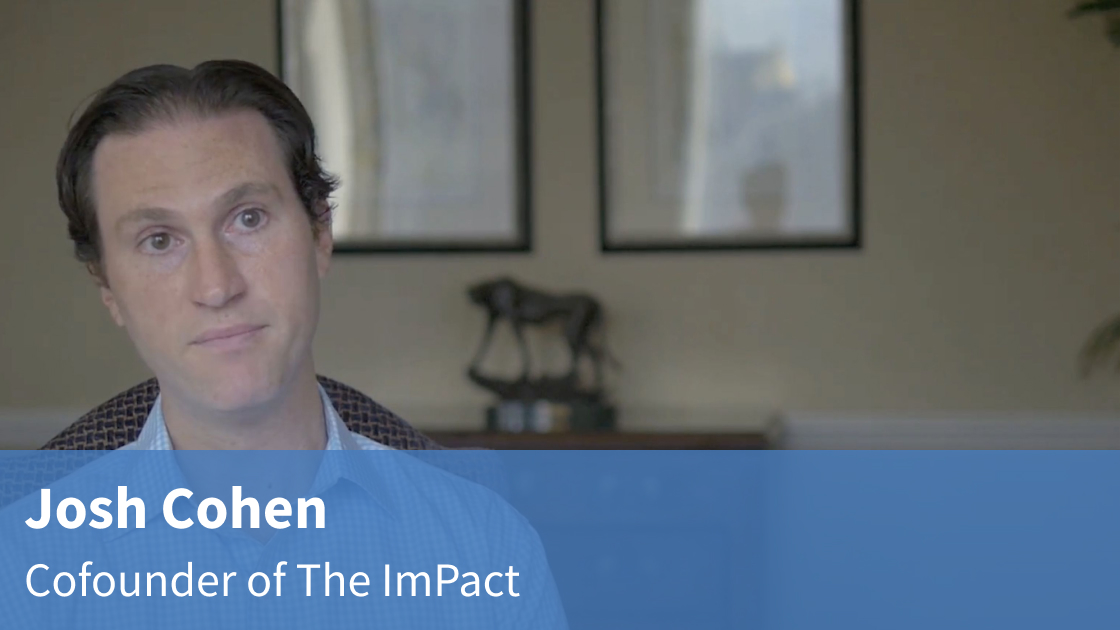 Video interview with Josh Cohen on the ImPact