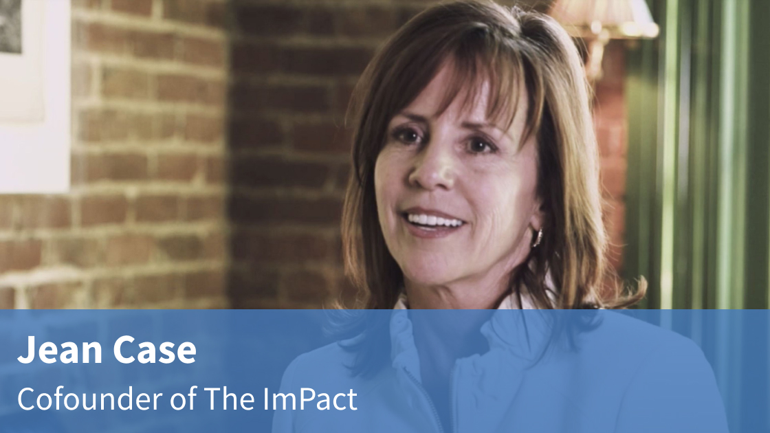 Video interview with Jean Case on the ImPact