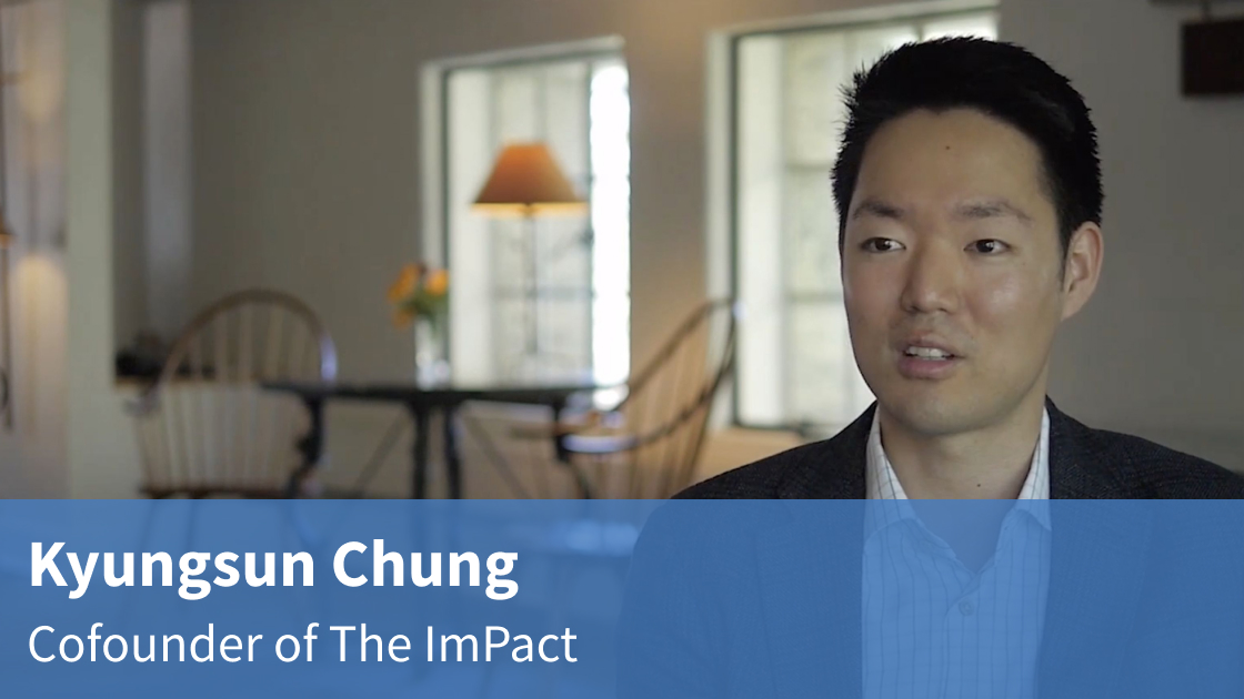 Video interview with Kyungsun Chung on the ImPact