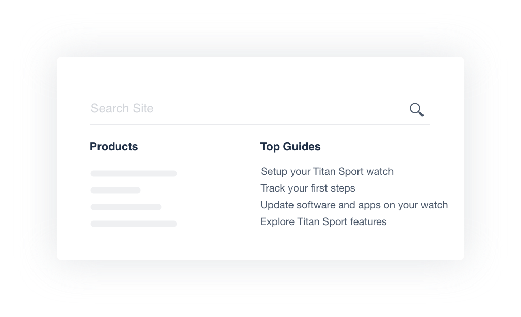 site search integration
