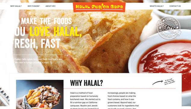 Reinhard Odhiambo Halal Fusion Cafe
