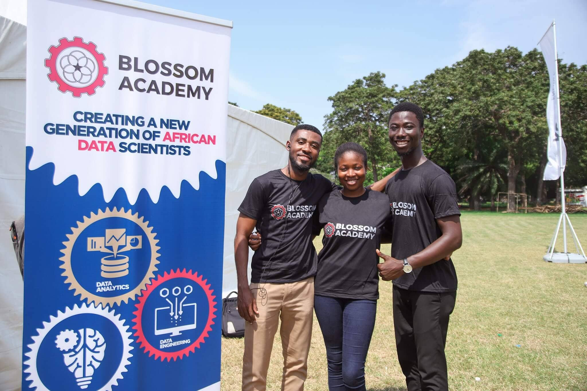 Jeph Acheampong Blossom Academy Built in Africa