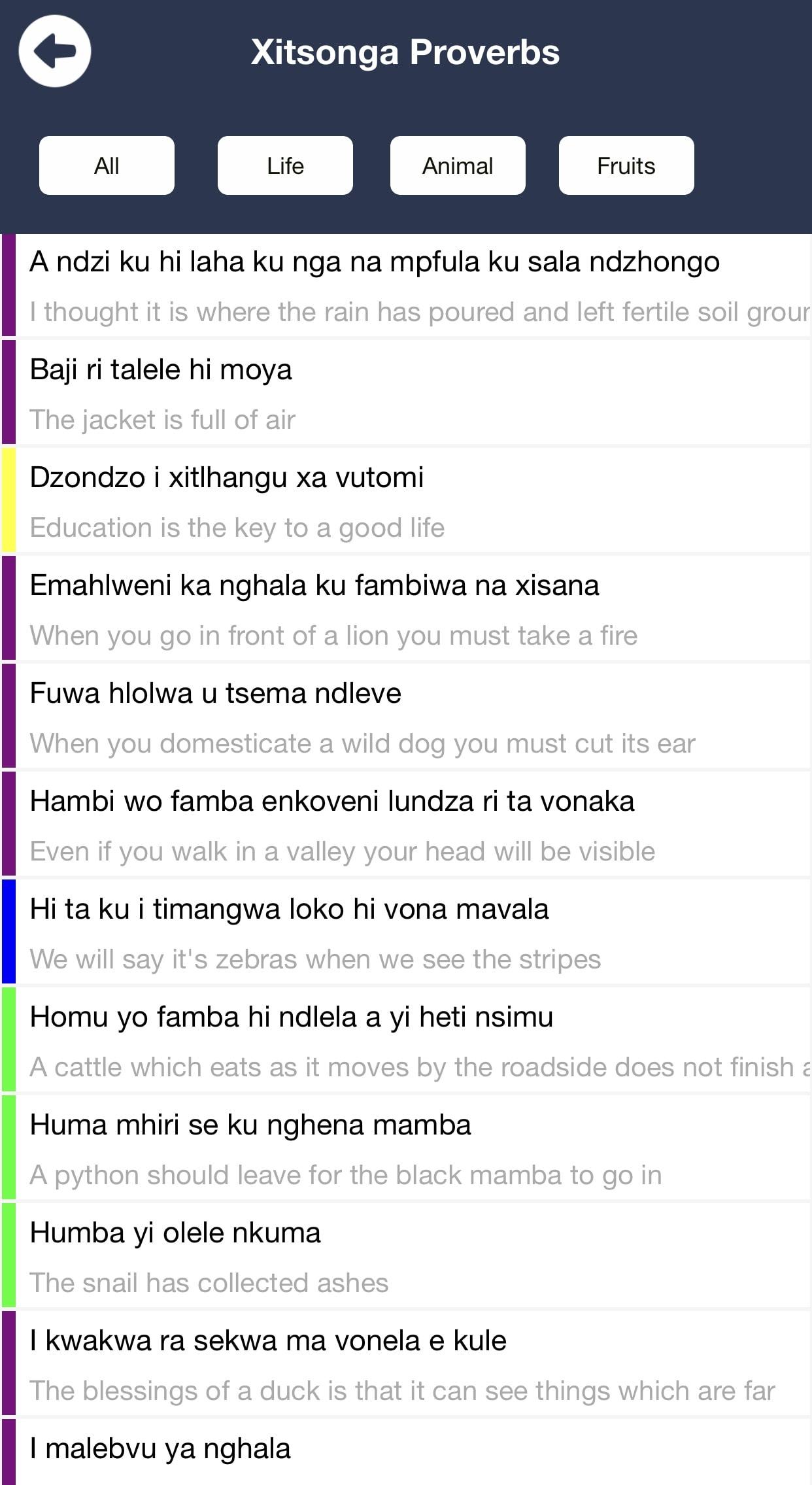 Mukondleteri Dumela Xitsonga.org