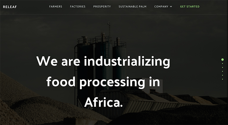 Uzoma Ayogu Releaf y combinator Built in africa