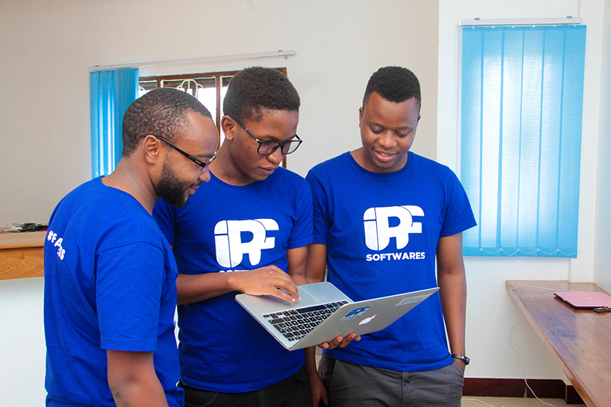 Grayson Julius, Co-Founders of iPF Softwares Tanzanian