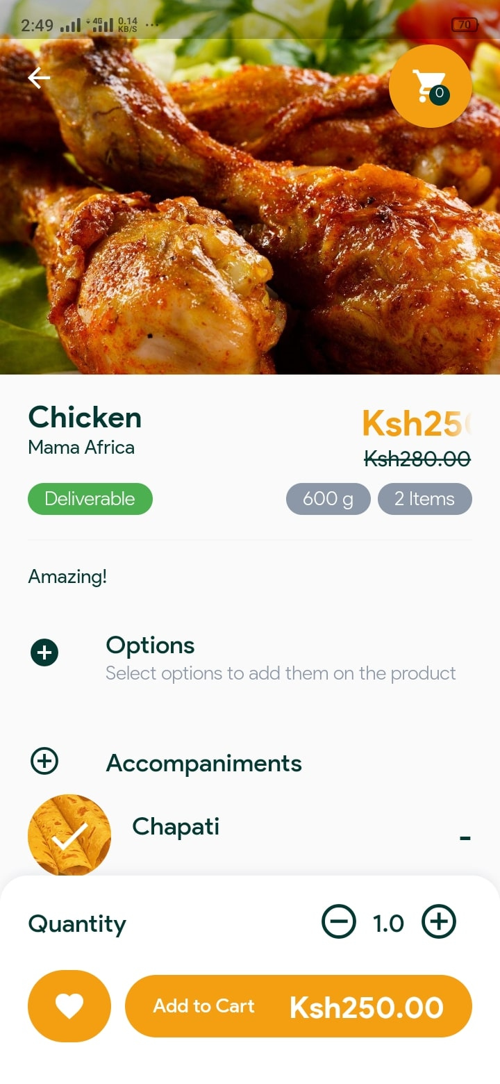 Ficar Delivery is a Kenyan food and beverage delivery service in Nyeri, Thika, and Nakuru