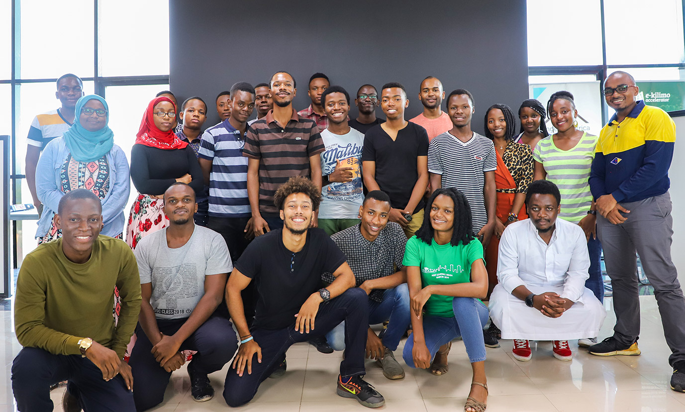 Meet Essa Mohamedali community manager of Tanzania AI Lab and project manager at Sahara Ventures.