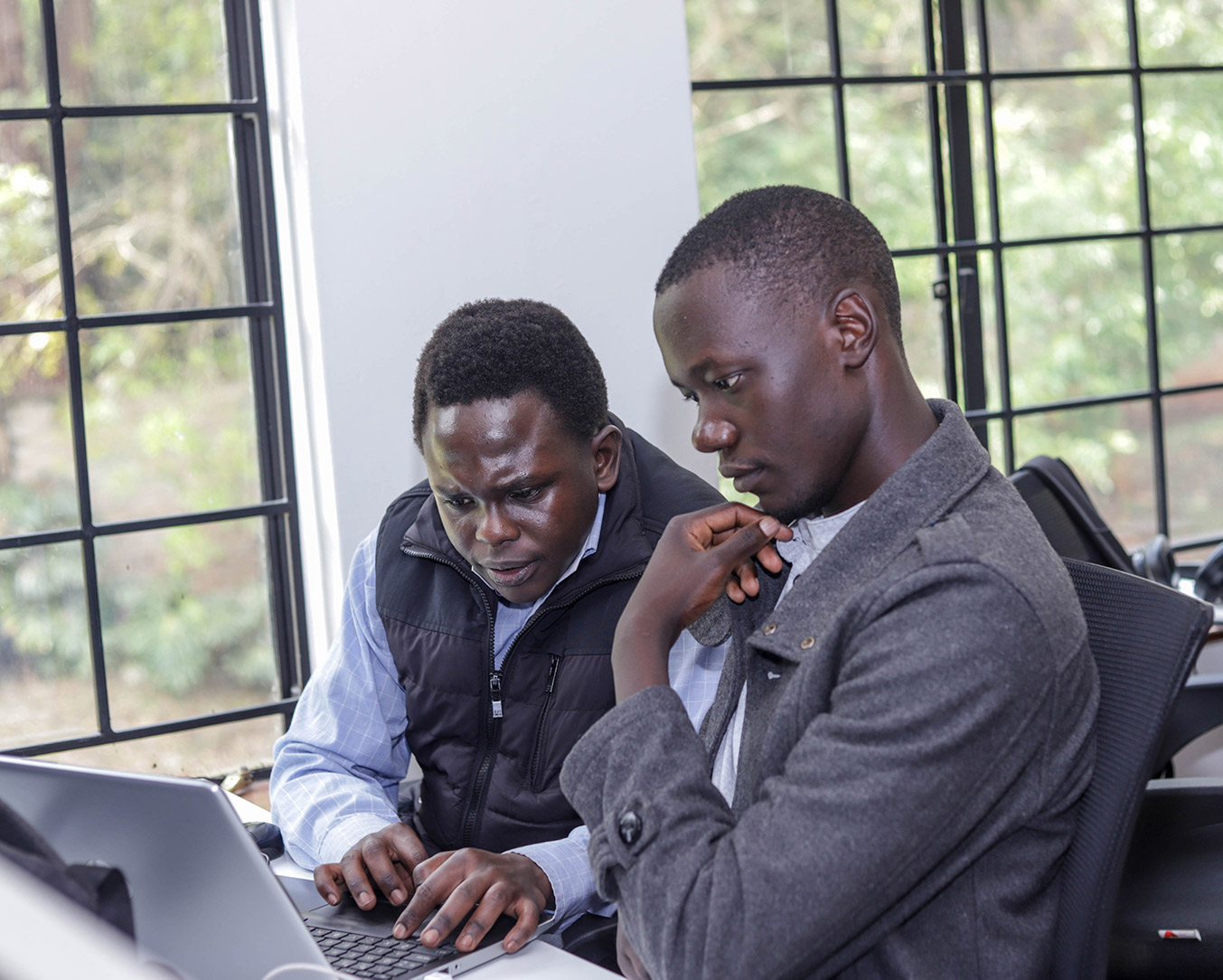 Maurice Omondi, software engineer at Tracom Services Limited traveled to Ethiopia to build merchant acquiring applications for Tracom clients.