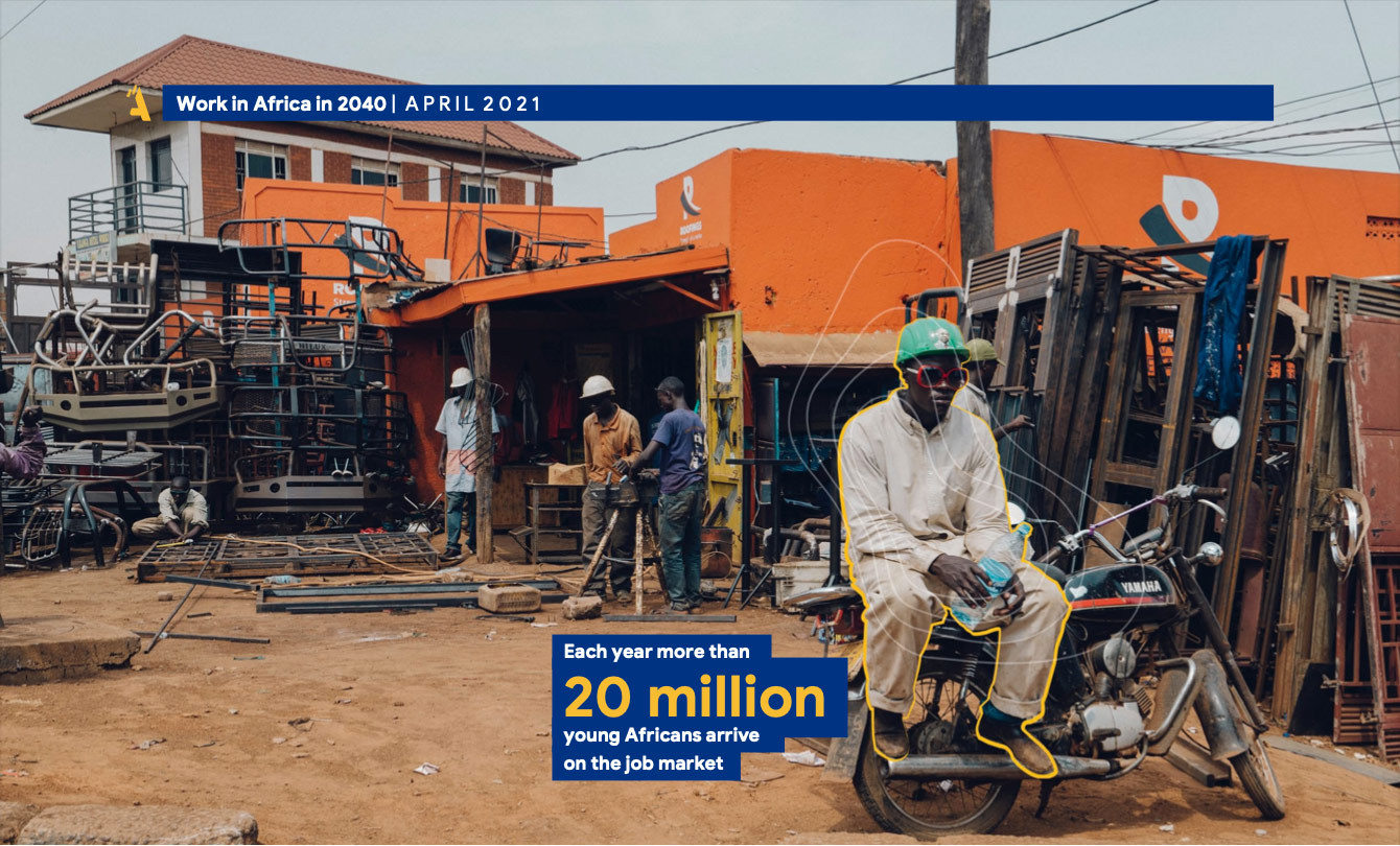 """Meet Serigne Fall, Head of Growth at LOOKA, discusses their recent report, """"Work in Africa in 2040: How Africans foresee it."""""""
