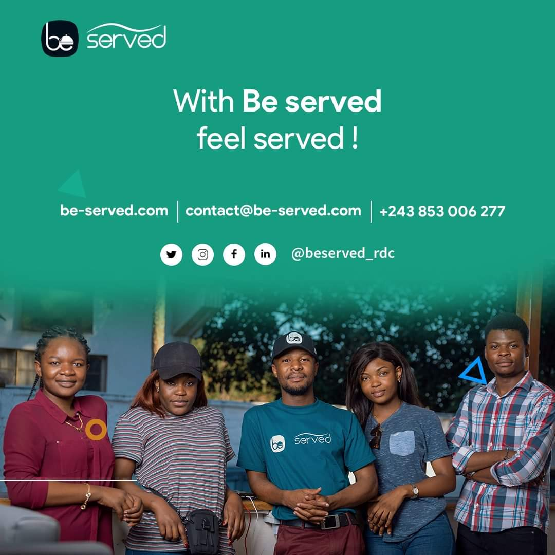 Be Served team Lubumbashi, DRC