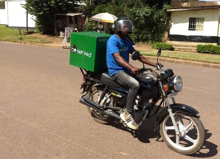 DRC-based Food delivery app