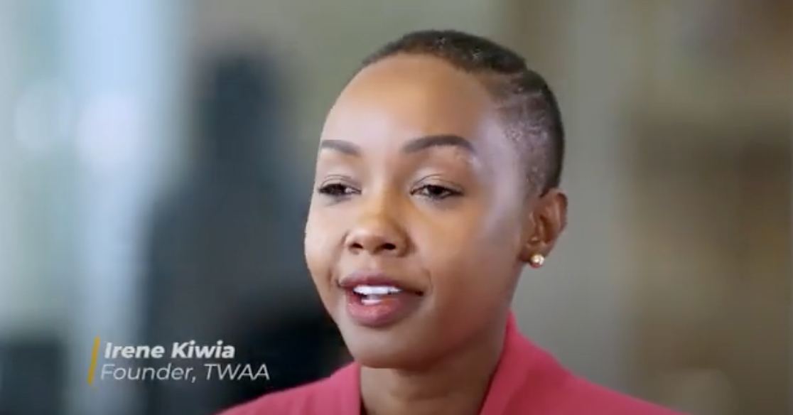 Irene Kiwia started a corporate social responsibility program to identify and pair young Tanzanian girls with mentors in various industries, and this birthed TWAA.