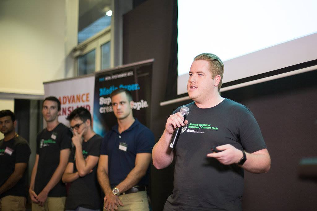 Pitching at a Startup Weekend
