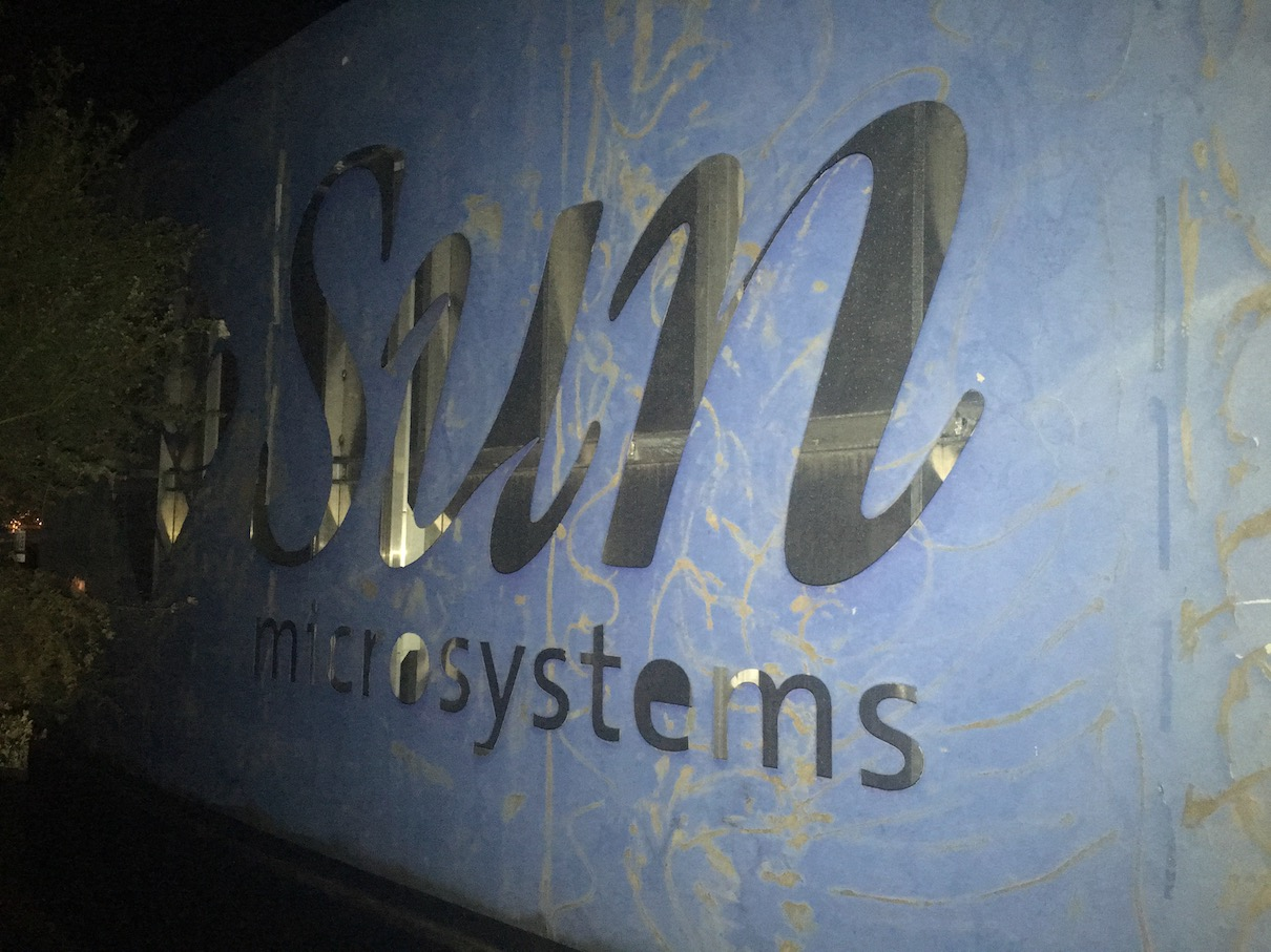 Sun Microsystems sign