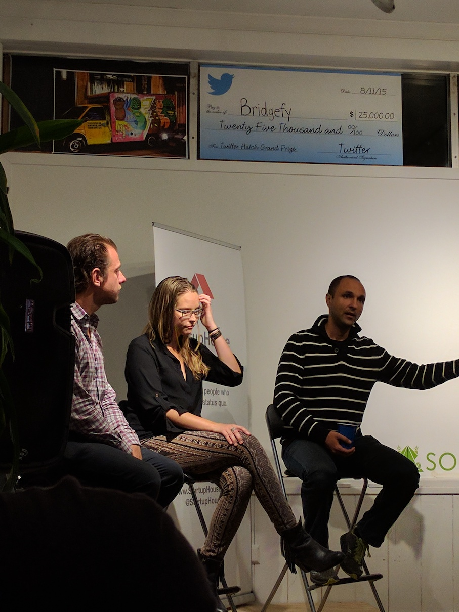 The panel at Startup House