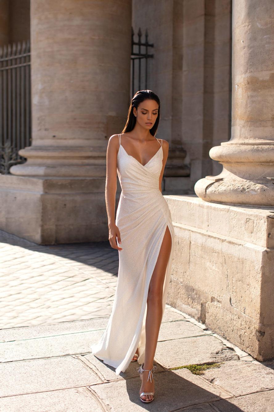 rochie de mireasa simpla