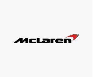 "A black ""MCLAREN AUTOMOTIVE"" Logo"