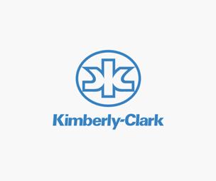 """A black """"KIMBERLY-CLARK"""" Logo"""