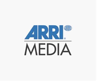 """Black """"ARRI MEDIA"""" Logo"""