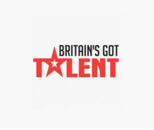 "A black ""BRITAIN'S GOT TALENT"" Logo"