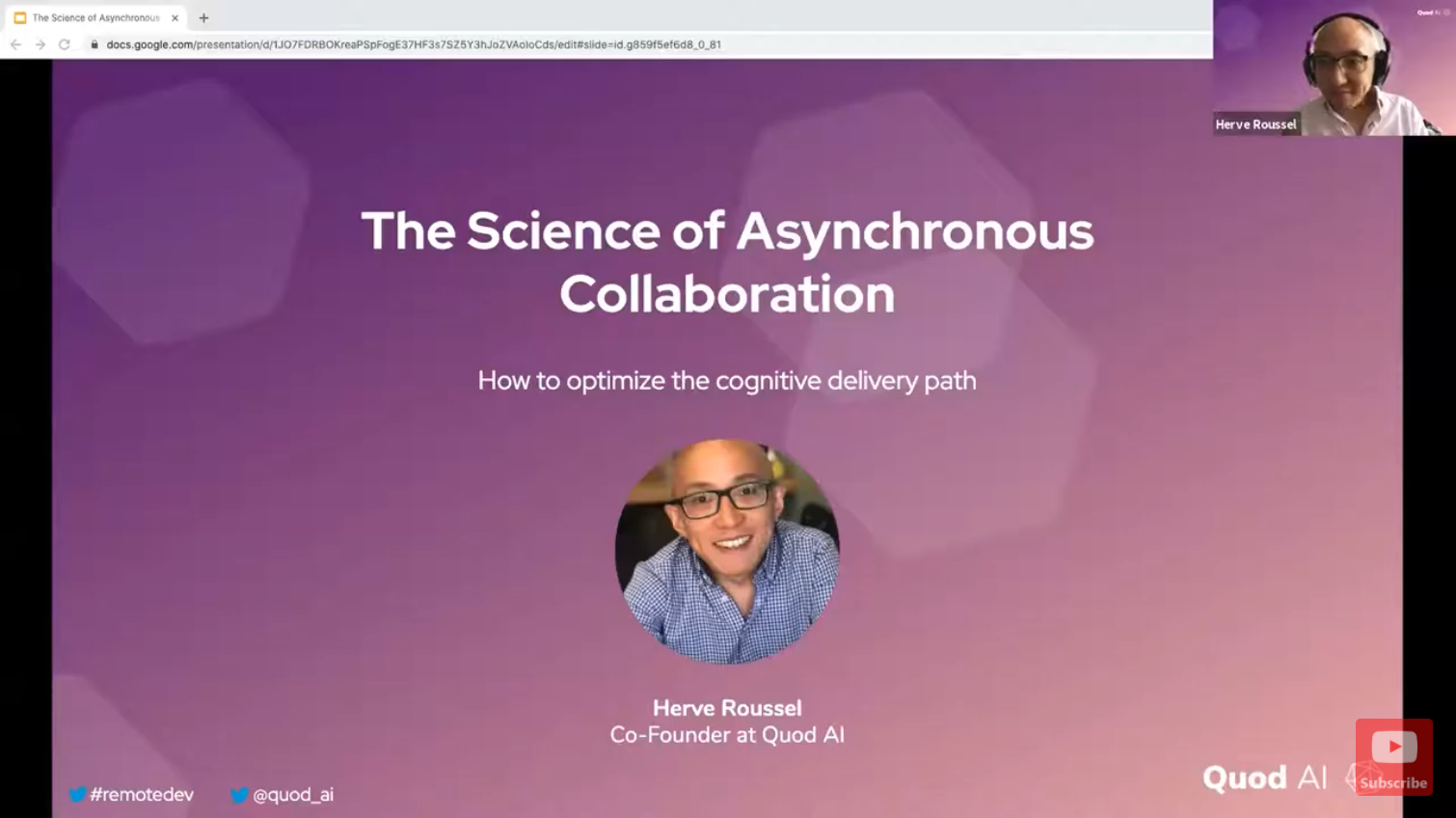 The Science of Asynchronous Collaboration