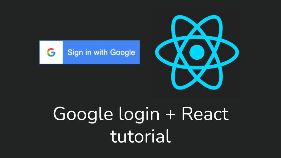 How to integrate Google API into your React app