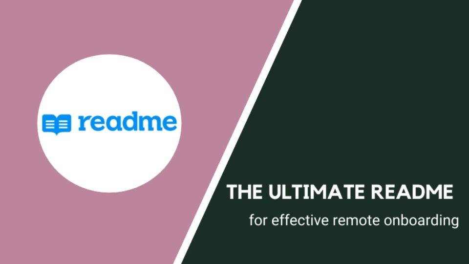 The ultimate README for remote onboarding