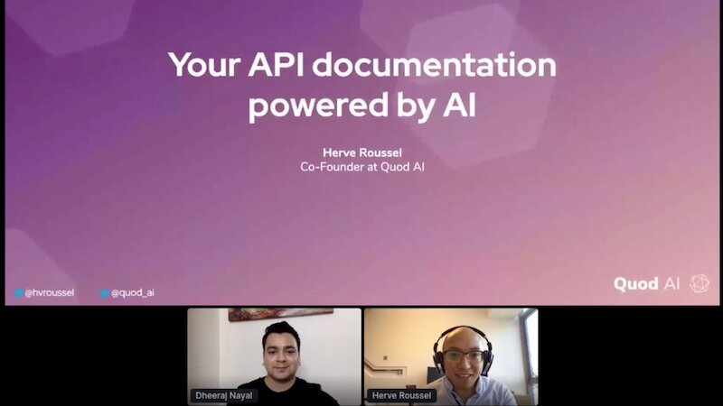 Better API documentation with AI