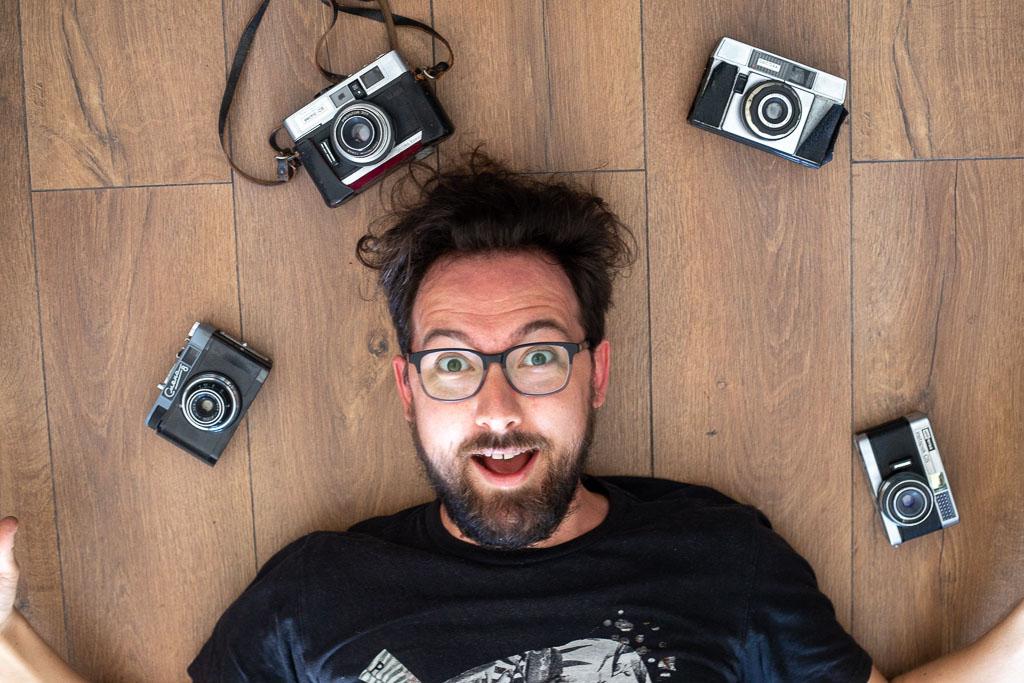 Jérôme Chantal and his cameras