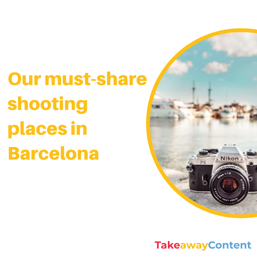 Our must-share shooting places in Barcelona