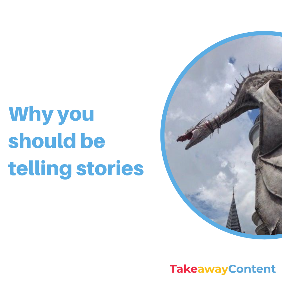Why you should be telling stories