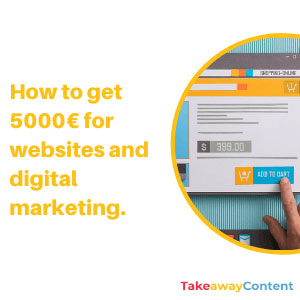 How to get a 5000€ grant for websites and digital marketing in Catalunya.