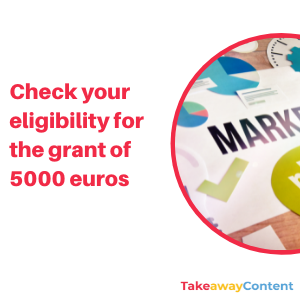 Check your eligibility for the grant  and obtain financial help to create your website, e-commerce or digital marketing!
