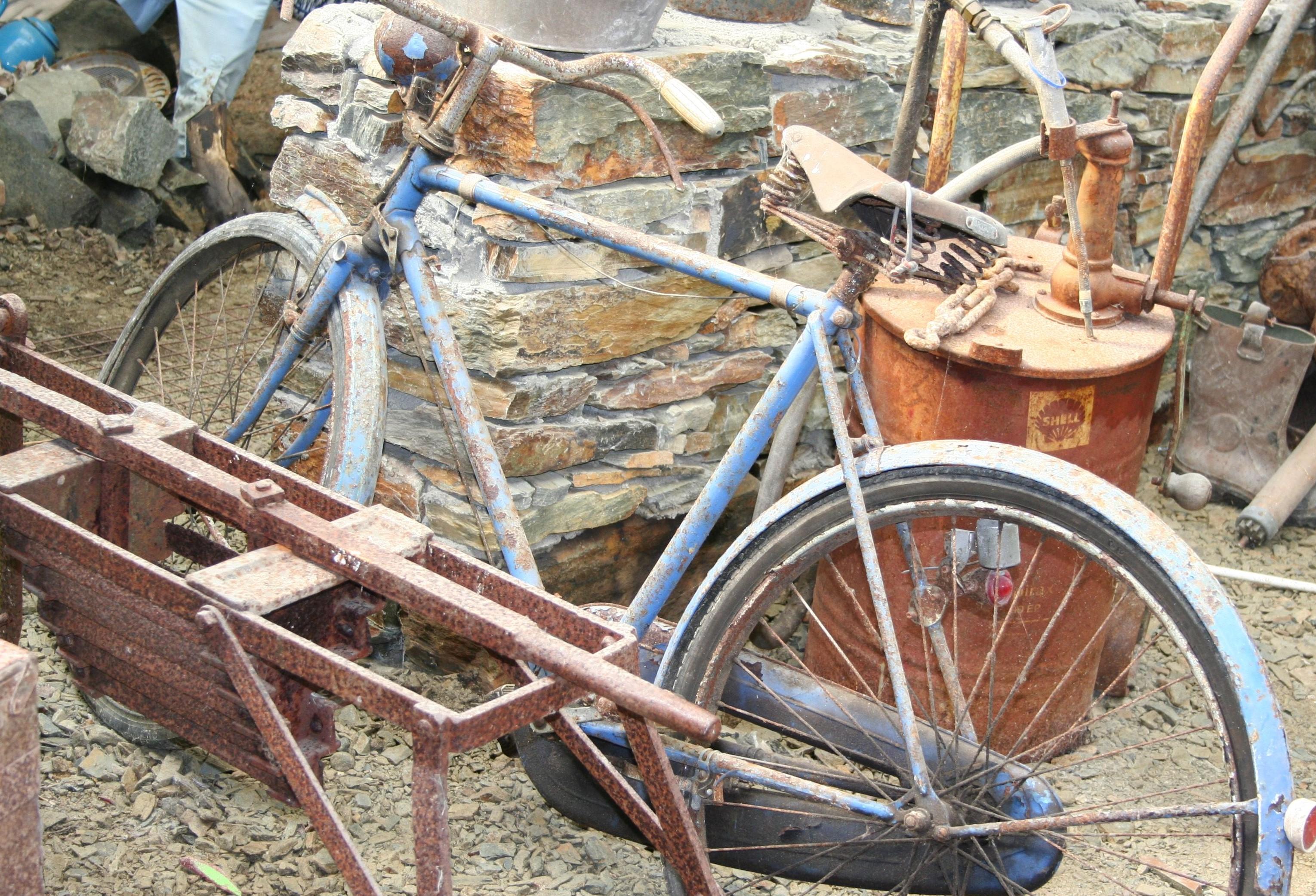 Was hat die Routine zu durchbrechen mit einem Fahrrad zu tun?