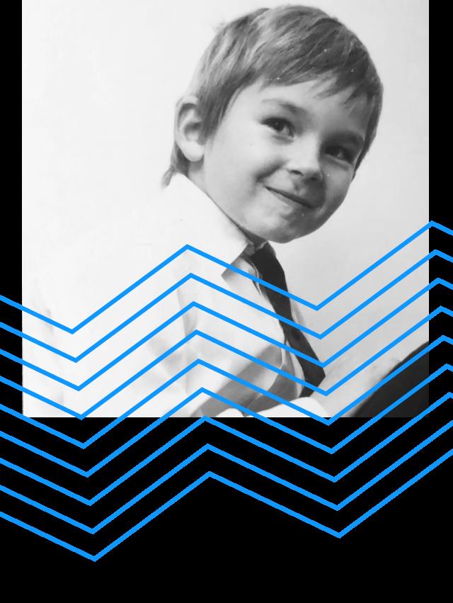 Kinderfoto Leo Gärtner