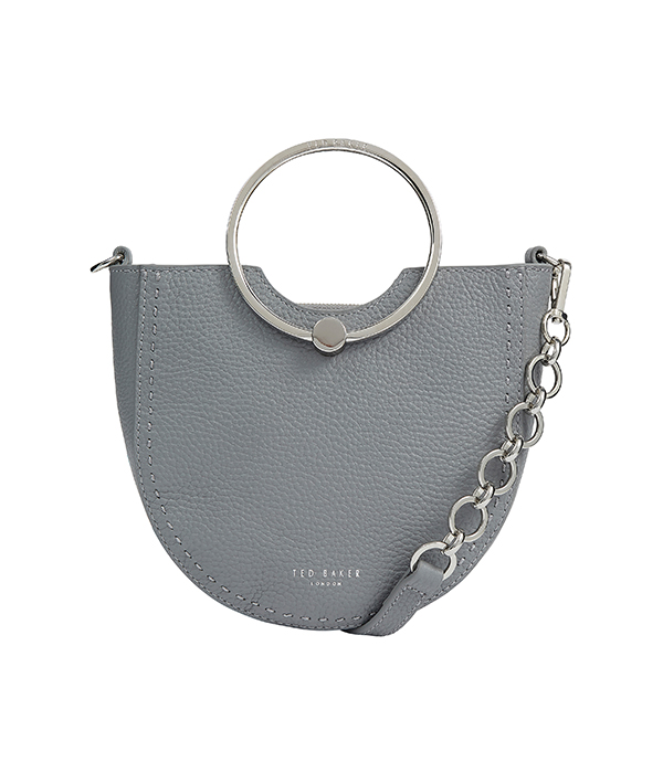 grey Ted Baker handbag