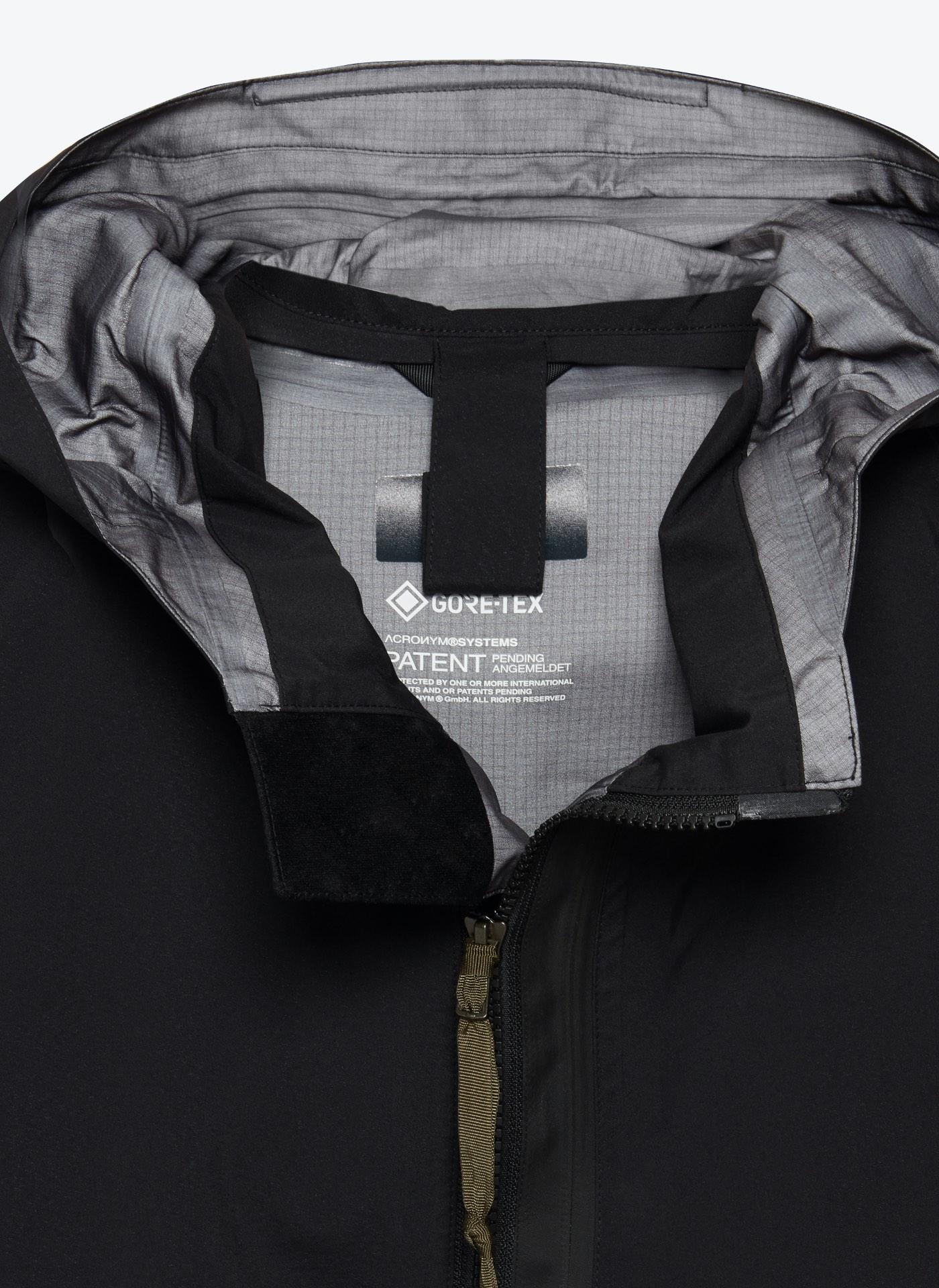 black and grey coat close up shot