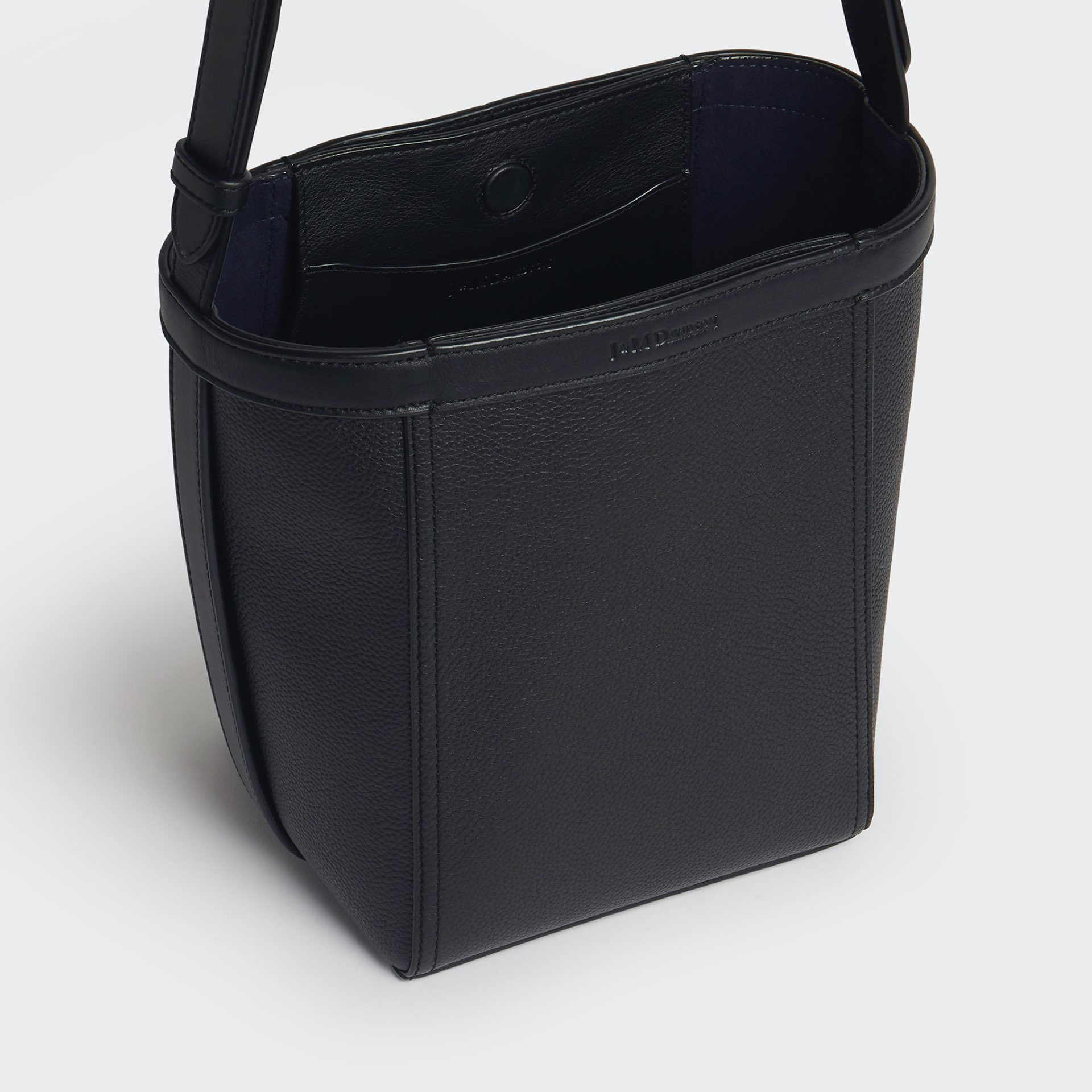 J&M Leather tote type bag